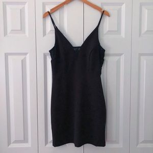 EXPRESS black mini dress size XS